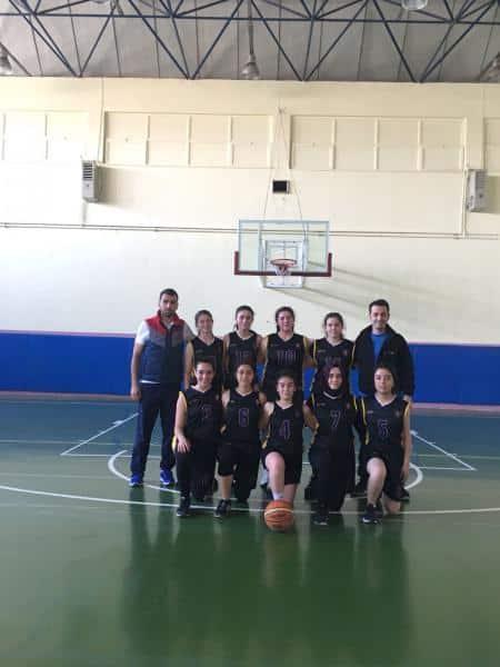 Kız Basketbol takımımız ilçe 2. oldu