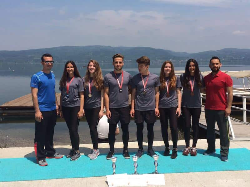 2016-2017 Liseler arası kürek yarışmasında Genç Kız A Türkiye 2.  Genç B Türkiye 3. Genç Erkekler Türkiye 3